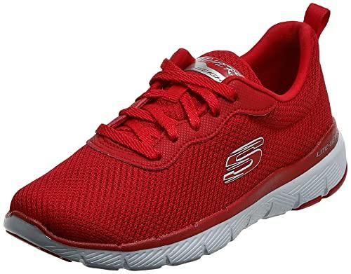 Skechers Flex Appeal 3.0-First Insight Tenis para Mujer, Rojo/Rojo, 7 M US