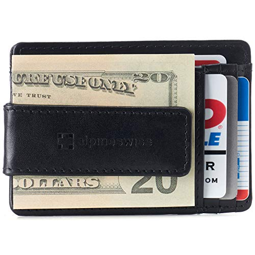 Alpine Swiss Harper Mens RFID Money…