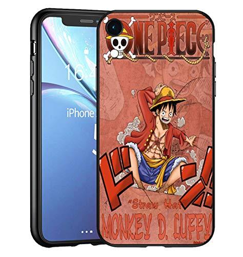 Compatible avec iPhone XR étui pour téléphone Coque en Silicone Anti-Chocs, Noir TPU Noir Doux