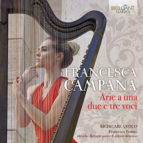 Francesca Campana : Airs et mélodies. Ricercare Antico, Tomasi.