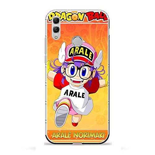 LUOKAOO Ultra TPU Silicone Rubber Gel Edge Protection Cover Case for Huawei P Smart 2019/Honor 10 Lite-Arale-Chan Dr-Slump 9