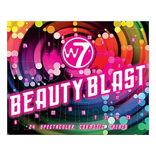 calendario avvento w7 W7 Beauty Blast Avvento calendario 2021-24 porte di trucco di alta qualità e sorprese cosmetici per Natale. GRATIS Crudely