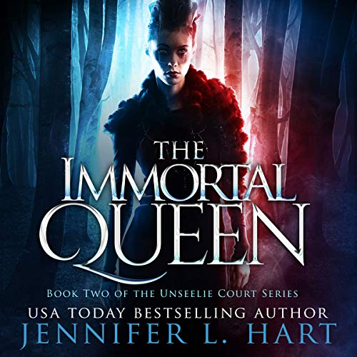 The Immortal Queen audiobook cover art