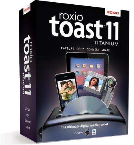 Roxio Toast 11 Titanium Mac [Old Version]
