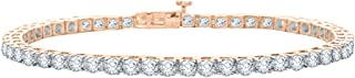 Diamond Tennis Line Bracelet in 14k Gold (15 cttw, G-H, VS2-SI1)