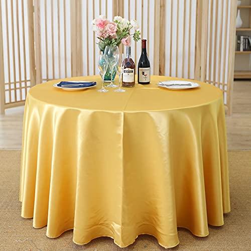 LIUJIU Manteles de licra para el hogar, rectangular, para mesa de mesa, de poliéster, 200 cm
