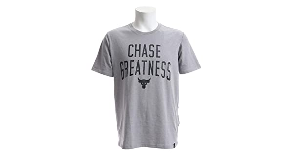 Under Armour x Project Rock Chase Greatness Men's Graphic T-Shirt 1326383 Size M