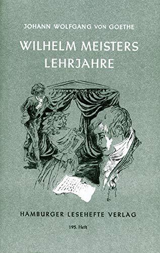 Wilhelm Meisters Lehrjahreの詳細を見る