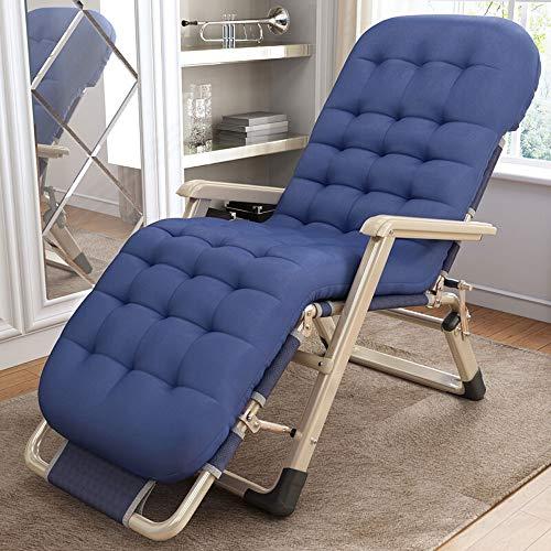 Paddia Chaise de Loisirs Chaises Multiples - Fauteuils inclinables Ajustables Pliants, Siesta Lounge Fauteuil-Lounge d'extérieur Coussin de Chaise Longue extérieur