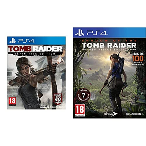 Shadow of The Tomb Raider Definitive Edition + Tomb Raider: Definitive Edition