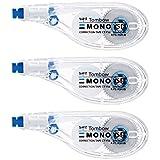 トンボ鉛筆 修正テープ MONO モノYS 6mm 3個 KCA-327