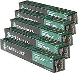Starbucks Pike Place Roast - Juego de 5 cápsulas de café tostado, compatible con Nespresso, 50 cápsulas