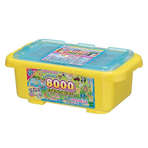 Aquabeads 8000 Beads Container Animal Filled Set AQ-291