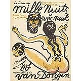 ポスター ヴァンドンゲン1001泊予約フランスの広告 A4サイズ [インテリア 壁紙用] 絵画 アート 壁紙ポスター