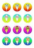 Muffinaufleger Cupcakes Muffins Zuckerpapier Schulanfang Einschulung 1. Schultag SE01