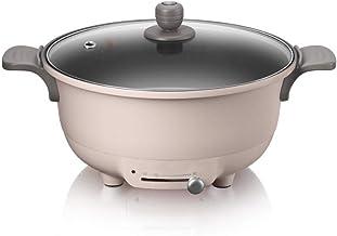 JSMY Pot Chaud électrique Pot Multifonction Domestique Plug in Wok de Cuisson électrique Pot électrique Petite cuisinière ...