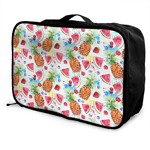 Qurbet Bolsas de Viaje, Travel Luggage Trolley Bag Portable Lightweight Suitcases Duffle...