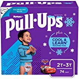 Pull-Ups Cool & Learn Boys' Training Pants, 2T-3T, 74 Ct