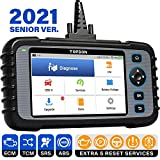 OBD2 Scanner, TOPDON ArtiDiag600 Scan Tool, Diagnostic Tool for Engine/SRS/ABS/at, Oil/EPB/SAS/TPMS Reset Throttle Matching Car Scanner, AutoVIN, 2021 CAN Code Reader for DIYer, Free WiFi Update