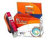 TS-Print Cartucho de Tinta CLI-581XL Magenta Compatible para Canon CLI-581 XL Rojo TR7520 TR7550 TR8550 TS6150 TS6240 TS6250 TS6350 TS8150 TS8250 TS8350 TS9150 TS9520 TS9155 TS9540 TS9550