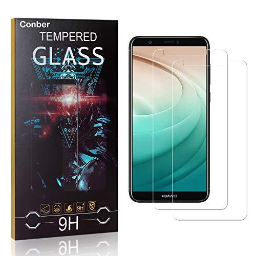 Conber [4 Stück] Displayschutzfolie kompatibel mit Samsung Galaxy Core Plus, Panzerglas Schutzfolie für Samsung Galaxy Core Plus [9H Härte][Hüllenfreundlich]