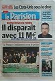 PARISIEN EDITION DE PARIS(LE) [No 20269] du 07/11/2009 - FUSILLADE FORT HOOD / LES ETATS-UNIS SOUS LE CHOC - LE 1ER APPLE STORE...