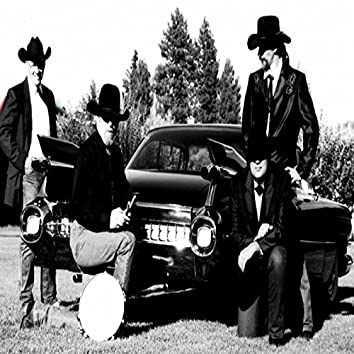 Long Big Black Cadillac