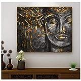 RuiChuangKeJi Kunstwerk Malerei 50x70cm Mit Rahmen