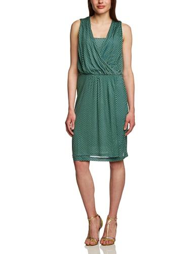 Tommy Hilfiger Damen Barbara PRT WRAP Dress NS Kleid, Mehrfarbig (Estate Blue-PT/Multi 480), 42 (Herstellergröße: XL)