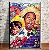 nobrand Poster Outkast Usa Album Rap Musik Star Hip Hop