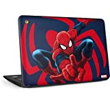 Skinit Decal Laptop Skin for Chromebook 11 G6 EE - Officially Licensed Marvel/Disney Spidey Shooting Web Design