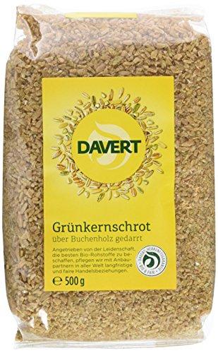 Davert Grünkernschrot, (4 x 500 gr)