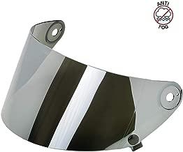 Biltwell Unisex-Adult (SA-CHR-GS-SD) Gringo S Flat Shield-Chrome Anti-Fog, One Size)