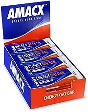 Amacx Energy Oat Bar 50 gr - Energiereep - Banana - 12 stuks