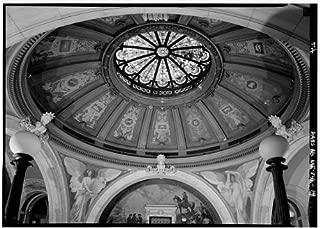 HistoricalFindings Photo: Hudson County Courthouse,583 Newark Avenue,Jersey City,New Jersey,NJ,HABS,17