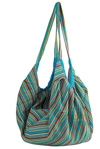 Amazon.com | Large Tote Shoulder Bag for Women, Banana Style Casual Comfortable Market Groceries School Books Everyday Purse Travel (Blue)