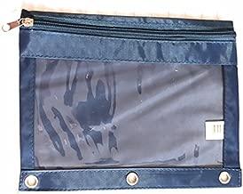 Carolina Pad 3-Ring Zipping Binder Pouch (Blue)