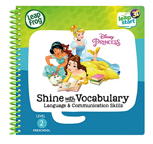 LeapFrog Leapstart Preschool: Disney Princess Shine with Vocabulary Activity Book (3D Enhanced)