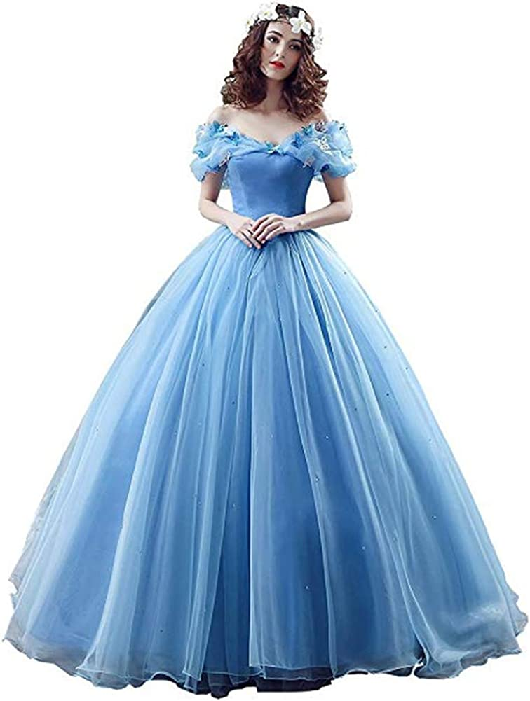 Datangep Max 59% OFF Women's Lace up Ball Gown Quinceanera P Long with Dress Max 62% OFF