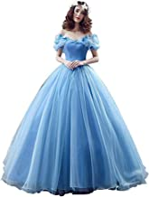 Datangep Women's Lace up Ball Gown Long Quinceanera Dress with Pleated Straps