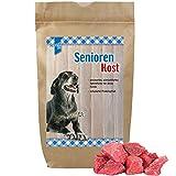 Senior Spezial Trockenfutter 3 kg speziell für ältere Hunde kann in Wasser eingeweicht werden für Senioren mit Zahnproblemen schmackhaften nur die besten Zutaten niedriger Proteingehalt