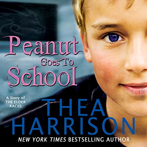 Peanut Goes to School audiobook cover art