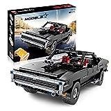 Technic Muscle Car Set De Construcción, RC Sports Car Set De Construcción con Control Remoto Y Motores, 1098 Piezas Bloques Compatibles con Lego, El Modelo De Construcción No Es Creado por Lego