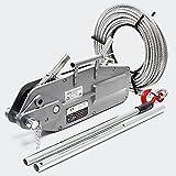 Seilzug bis 3200 kg mit 20 m Seil Ø 16 mm, mit Abscherstift und Lasthaken, zum Ziehen/Spannen/Heben
