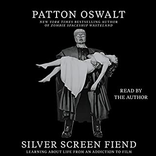 Silver Screen Fiend audiobook cover art