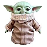 yacn The Mandalorian Yoda Figure Toys, 6inch Deluxe Resin Yoda Ornament Collections Birthday Gift Fo...