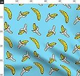 Banane, Obst, Konfetti, Sommer, Memphis, 80Er Jahre,