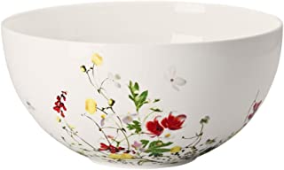 Vegetable Bowl, open, 8 1/2 inch | Brillance Fleurs Sauvages