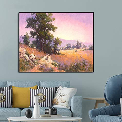 GJQFJBS Flores Bodegones Pintura sobre Lienzo Impresión de Carteles Sala de Estar Imprimir Restaurante Pared Decoración de Arte para el hogar A5 60x80cm