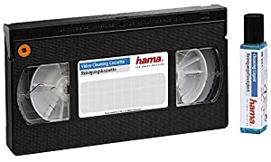 HAMA 00044728 VHS/S-VHS Video Cleaning Tape